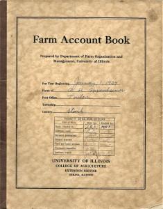 FarmRecordBook1934